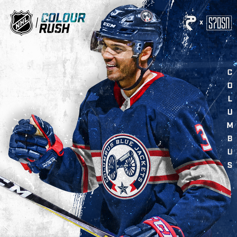 new products 5f761 fb78c The Columbus Blue Jackets Color Rush Jerseys, Presented by ...