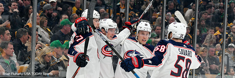 Can the Blue Jackets party in Boston?