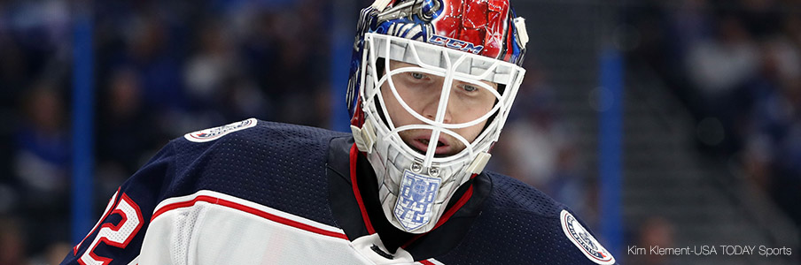 Sergei Bobrovsky will need to shine for Columbus in Game 2