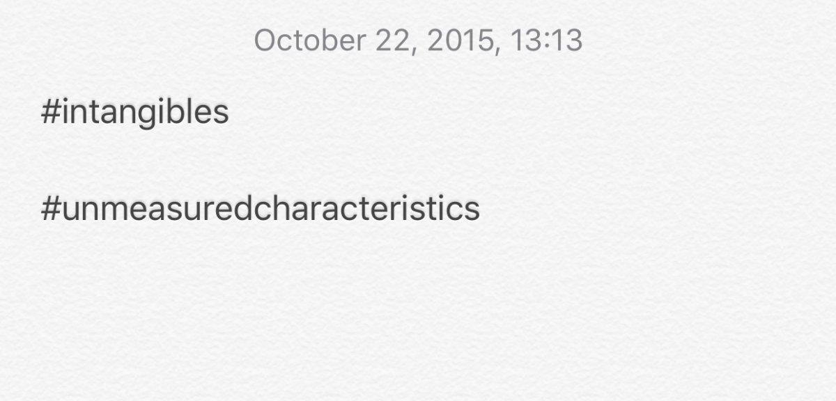 Wilke Notes