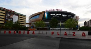 T-Mobile Arena is the soon to be home of the Vegas Golden Knights