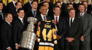 Pittsburgh Penguins at the White House