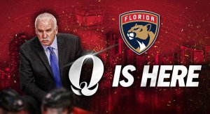 Joel Quenneville is the Florida Panthers' new head coach.