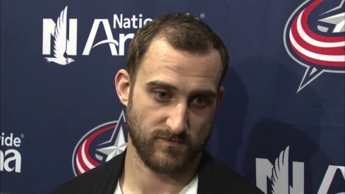 Nick Foligno gives his exit day interview