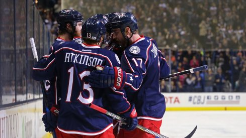The Blue Jackets set a franchise record for wins this year.