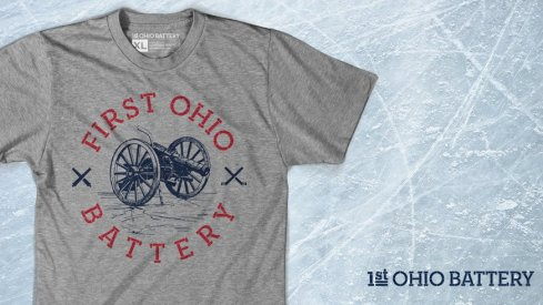 Introducing the 1st Ohio Battery Track Tee