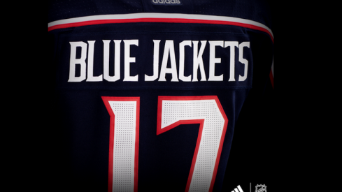 New Columbus Blue Jackets jersey by adidas