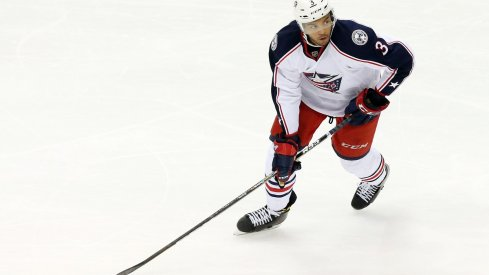 Blue Jackets defenseman Seth Jones