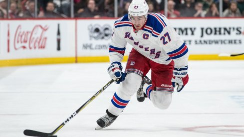 Rangers defenseman Ryan McDonagh