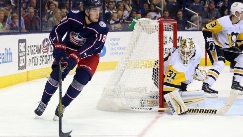 The Blue Jackets and Penguins battle again