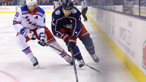 Two players in big CBJ trades