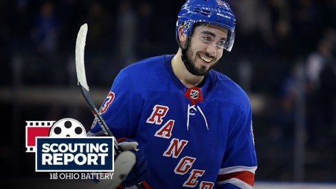 Mika Zibanejad leads the Rangers in scoring – and has a strange connection to the Blue Jackets.