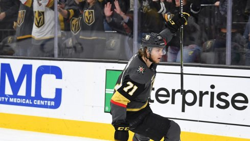 Vegas Golden Knights forward William Karlsson