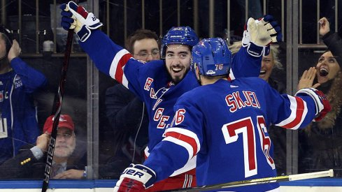 Mika Zibanejad and Brady Skjei have been bright spots for the New York Rangers this season