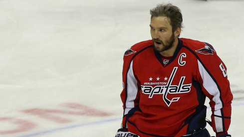 "Alex Ovechkin won his seventh Maurice ""Rocket"" Richard Trophy this season."