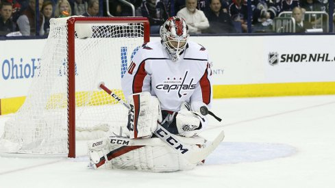 Washington Capitals goalie Braden Holtby stood tall in Game 3.
