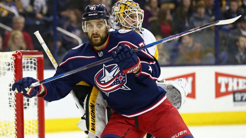 Blue Jackets captain Nick Foligno