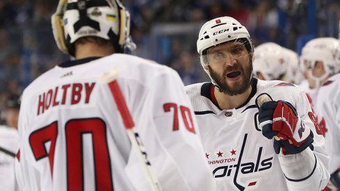 The Washington Capitals' Alexander Ovechkin and Braden Holtby are two games away from the Stanley Cup Final. Is this a good sign for the Columbus Blue Jackets?