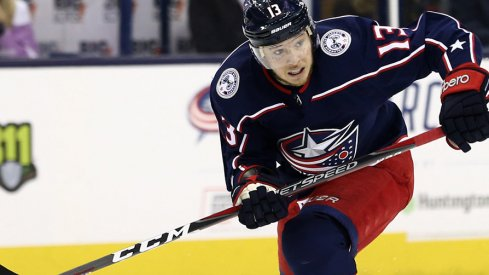 Columbus Blue Jackets forward Cam Atkinson may be considering a number change.