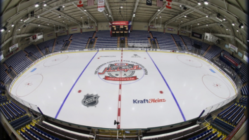 Kraft Hockeyville will be in Clinton, New York and they will host the Blue Jackets and Sabres