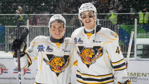 Vitali Abramov and Maxime Comtois, two players who made big jumps this season