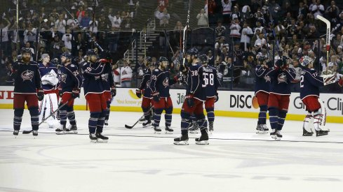 The Blue Jackets finished this past season with a 6-3 loss to the Washington Capitals