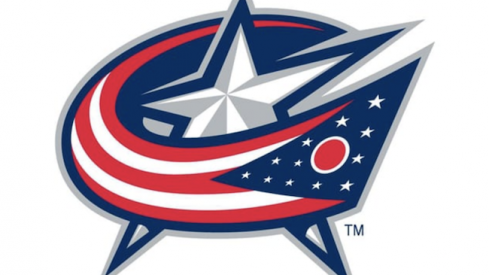 Columbus Blue Jackets primary logo, which Deadspin doesn't like.