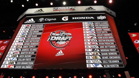 The NHL Draft is the easiest way to build up your farm team just ask the Columbus Blue Jackets