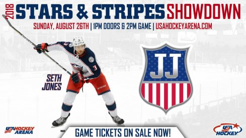 Seth Jones has been added to the Stars & Stripes Showdown roster.