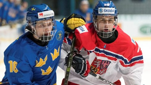 Emil Bemstrom's strong start to the season will having him represent Sweden again at the World Juniors