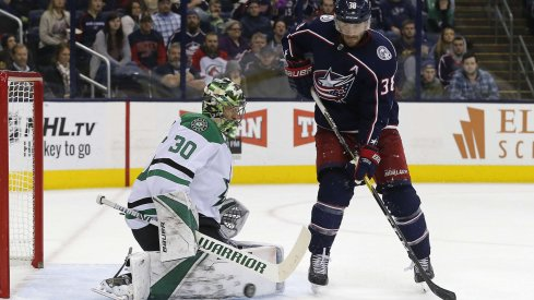 The Blue Jackets defeated the Dallas Stars by a score of 4-1 on Nov. 6.