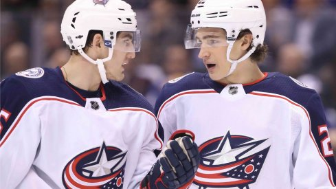 Lukas Sedlak and Sonny Milano have both been on the bubble between the Columbus Blue Jackets and the Cleveland Monsters for a few years now.