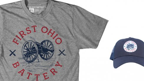 The super comfy 1st Ohio Battery t-shirt pairs perfectly with the official site trucker hat. Happy holiday shopping season!