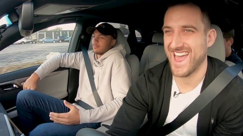 Nick Foligno takes Seth Jones for a ride around Columbus in this edition of Carpool with the Captain