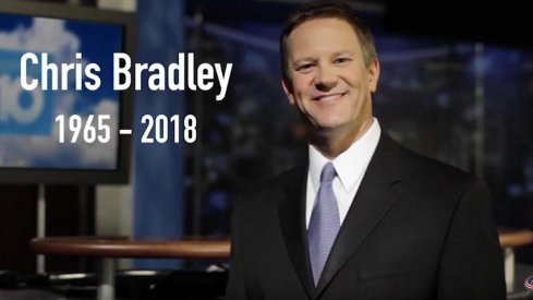 Chris Bradley served as the Chief Meteorologist of 10TV News for 12 years, and passed away on Wednesday after a 20-month battle with acute myeloid leukemia.