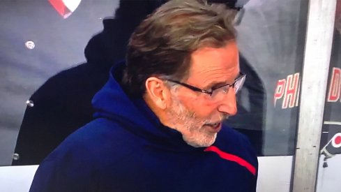 John Tortorella's hoodie is the fashion statement of the millennium.