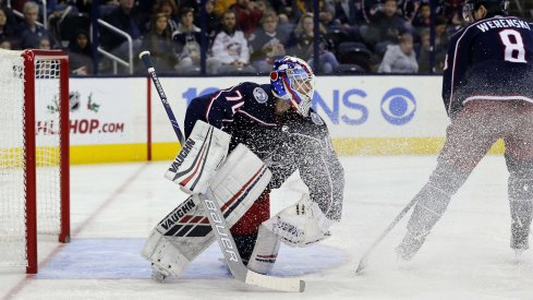 Sergei Bobrovsky is expected back in net tonight against the Vancouver Canucks