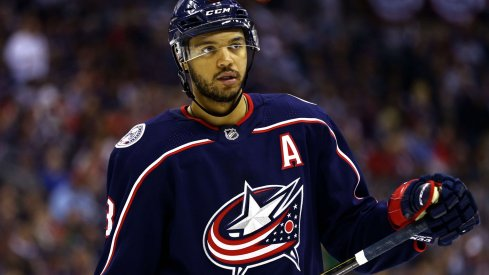 Seth Jones is on-pace to break his own record for points by a defensemen that he set for the Columbus Blue Jackets last year (57).