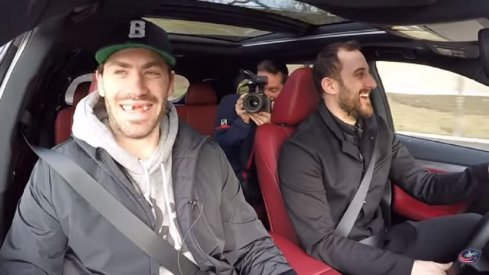 Nick Foligno takes Boone Jenner for a ride around Columbus in this edition of Carpool with the Captain