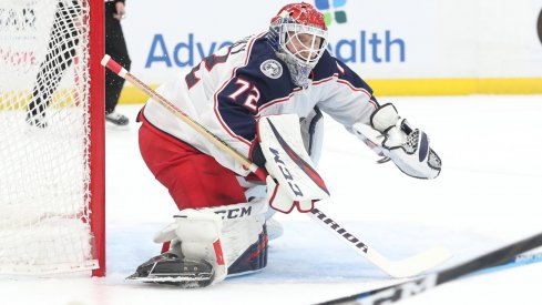 Sergei Bobrovsky, a two-time Vezina winning goaltender is having, statistically, his worst seasons as a Blue Jacket. His 3.01 goals against average and .901 save percentage haven't been seen since his Philadelphia Flyers days.