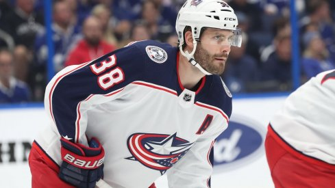 Boone Jenner is on pace for the second-best season of his career, currently with 26 points through 51 games for the Columbus Blue Jackets.