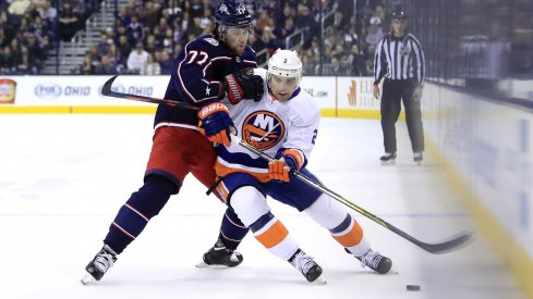 The Blue Jackets will face the New York Islanders two mores times before the end of the season.