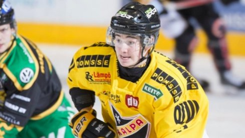 Alexandre Texier may be headed over to North America after a solid year with the KalPa in Liiga.
