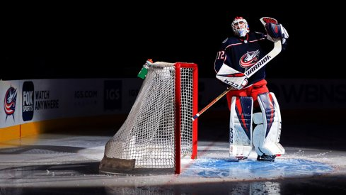 Sergei Bobrovsky added his name to the Columbus Blue Jackets record book again Friday night.