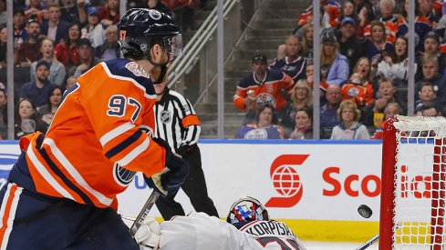 Connor McDavid put the kill shot into the Blue Jackets Thursday night.