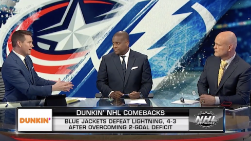 NHL Network's studio crew discusses the Columbus Blue Jackets' Game 1 win over the Tampa Bay Lightning.