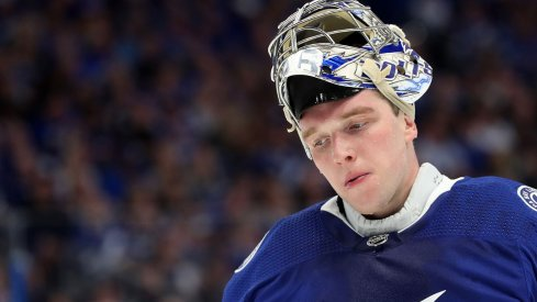Andrei Vasilevskiy has been a shell of himself during the Tampa Bay Lightning Columbus Blue Jackets series.