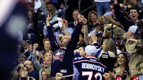 Columbus Blue Jackets fans brought the noise in Game 3 against the Tampa Bay Lightning at Nationwide Arena.