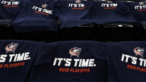 It's time for the Columbus Blue Jackets to get out of the first round.
