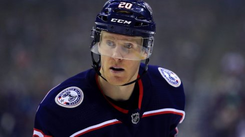 Columbus Blue Jackets center Riley Nash will face his former team, the Boston Bruins, in the Eastern Conference semifinal.
